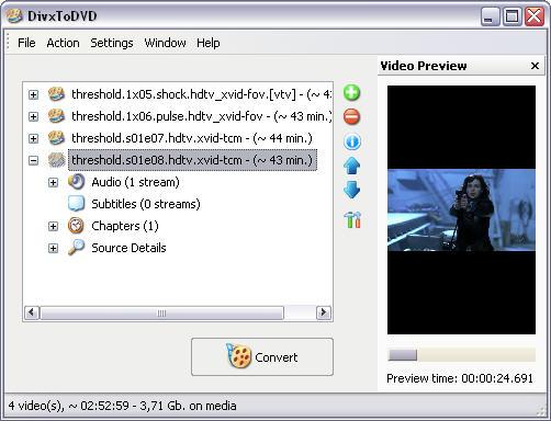 DivxToDVD 2 1.99.24 screenshot