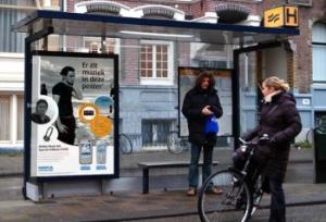 Abri-campagne Nokia