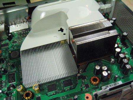 Xbox 360 - koelblokken