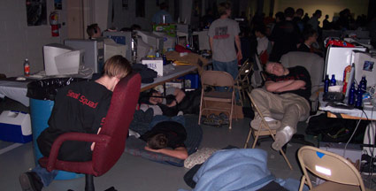 Slapende gamers