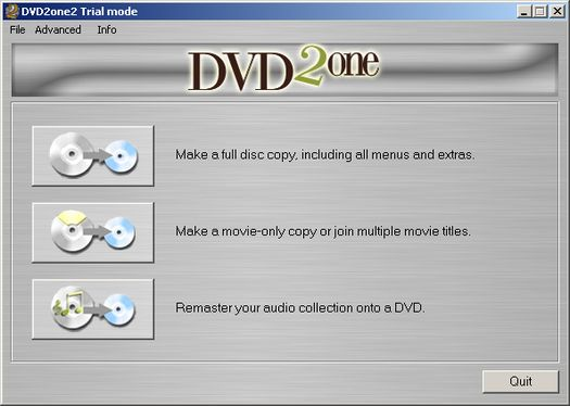 DVD2one 2.0.1