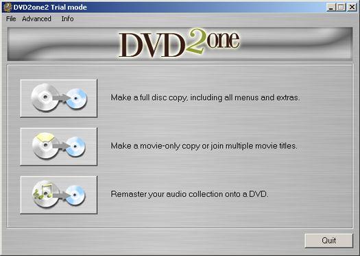 DVD2one 2.0.1