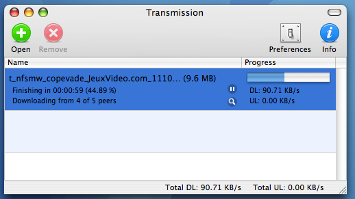 Transmission 0.4