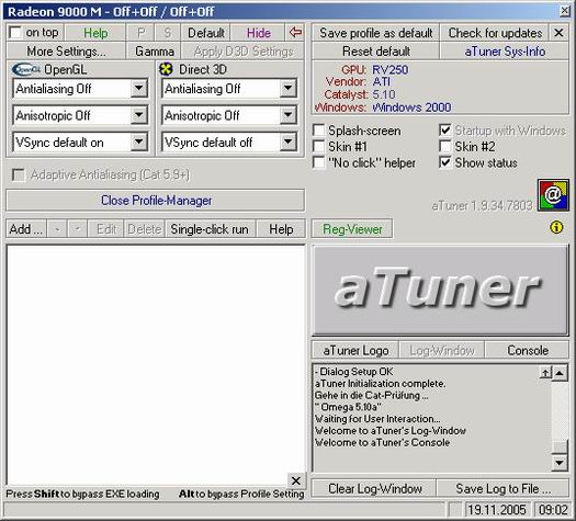 aTuner 1.9.34.7803 screenshot (resized)