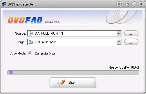 DVDFab Decrypter 2.9.5.8 screenshot