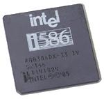Intel 386 ('rebranded' als 586)