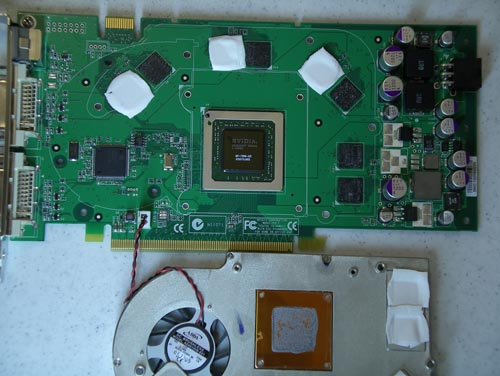nVidia 7800 GS zonder koeler bij AnandTech