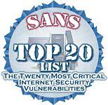 Sans Top 20
