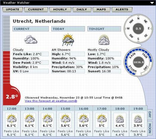 Weather Watcher 5.6.2 screenshot )resized)