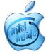 Apple with Intel Inside (blauw)