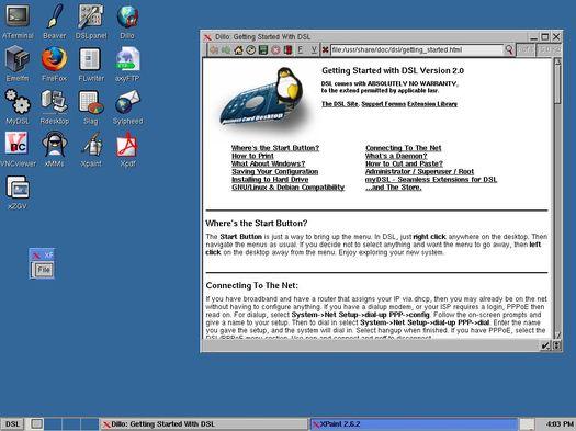 Damn Small Linux 2.0