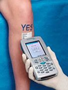 RFID op lichaam