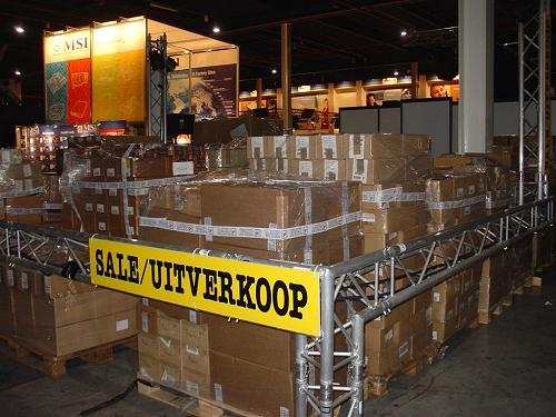 HCC Dagen 2005 - Uitverkoop