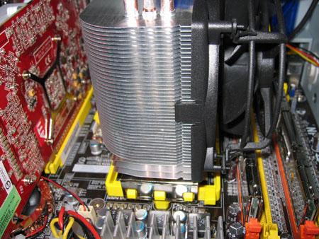Arctic Freezer 64 Pro in bedrijf