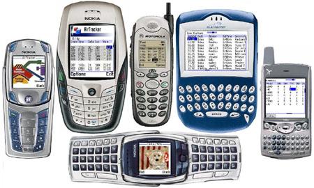 Mobiele apparaatjes