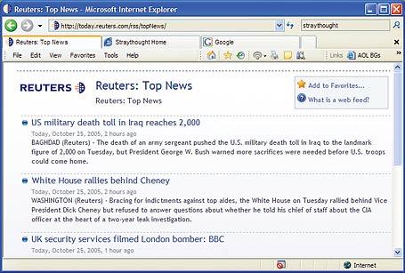 Internet Explorer 7 beta 1 (PC World)