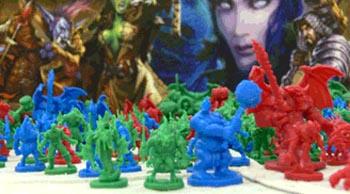 WoW bordspel monsterfiguren