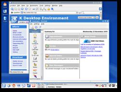 KDE 3.5 - K Desktop (klein)