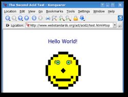 KDE 3.5 - Konqueror met Acid 2 (klein)