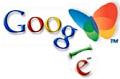 Google + MSN-vlinder