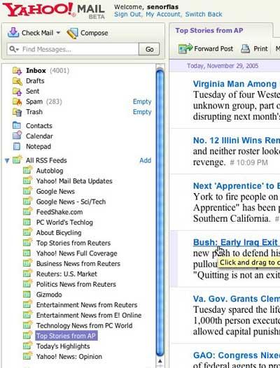 Yahoo Mail - RSS