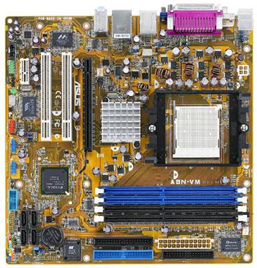Asus A8N-VM CSM GeForce 6150-moederbord