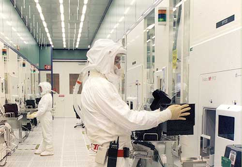 Intel astronauten aan het werk
