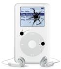 iPod na aanslag