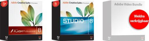 Adobe Design-, Web- en Video Bundles