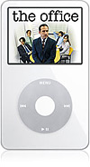 Apple iPod Video met tv-serie Office