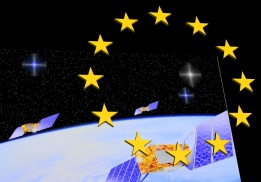 Galileo Constellation Euro Logo