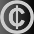 Copyrightsymbool met dollarstreep erdoor
