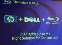 HP, Dell en Blu-ray presentatiescreenshot