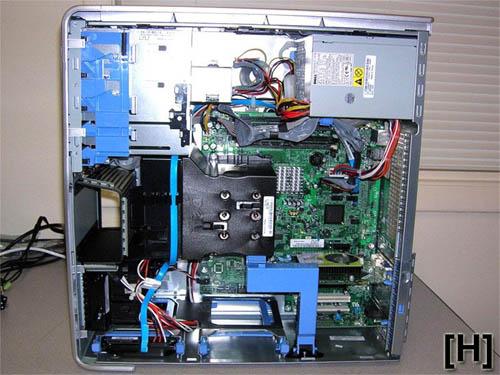 Dell Dimension XPS 400: binnenwerk