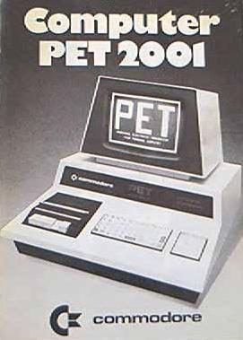 Commodore PET 2001-boekje