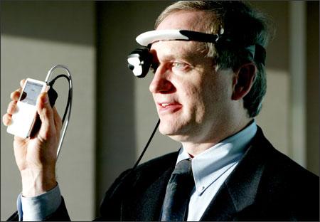 EyeBud headset voor iPod Video