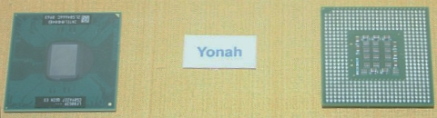 Yonah on the wall