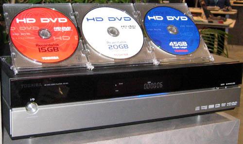 Toshiba HD-XA1 hd-dvd-speler