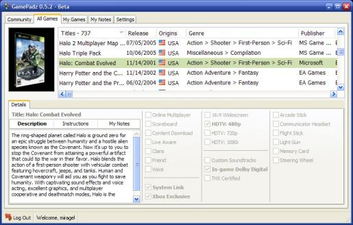GamePadz 0.5.2 beta (klein)
