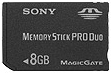 Sony Memory Stick Pro Duo 8GB