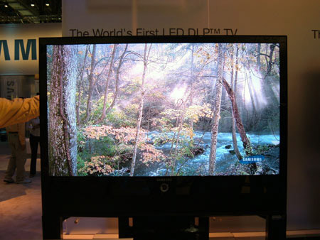 Samsung HL-S5679W LED RPTV