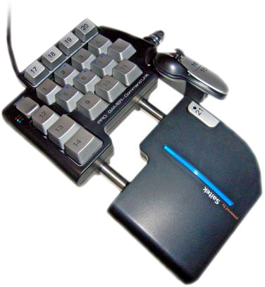 Saitek Pro Gamer spelcontrollern