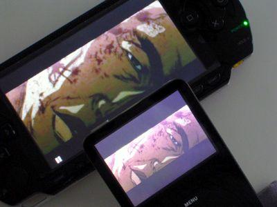 PSP en iPod Video