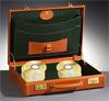 Koffer met gouden cd's