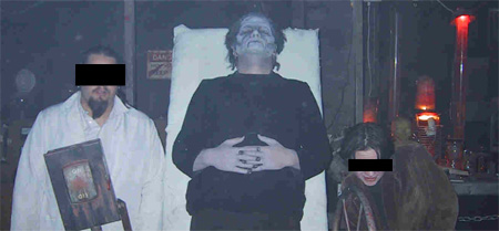 Dr. Frankenstein, Igor en het monster