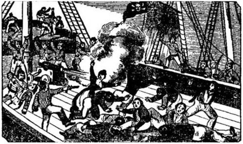 Moord op piratenschip