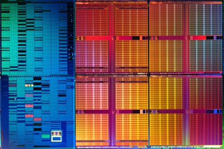 Intel 45nm SRAM die