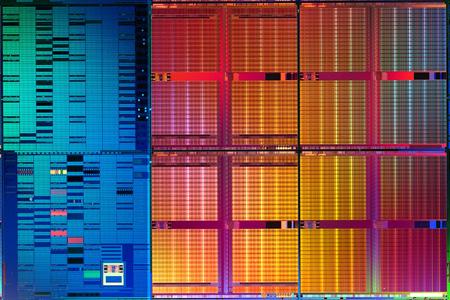 Intel 45nm SRAM die