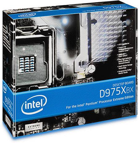 Intel D975XBX-moederbord