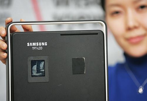 Samsung 1,72-inch lcd-scherm met SR-technologie (prototype)